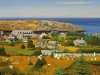 Monhegan Summer (32X48) oil on canvas