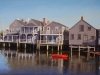 Morning Reflections, Nantucket (24X36) oil on linen