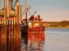 trawler, Wellfleet, 18X24